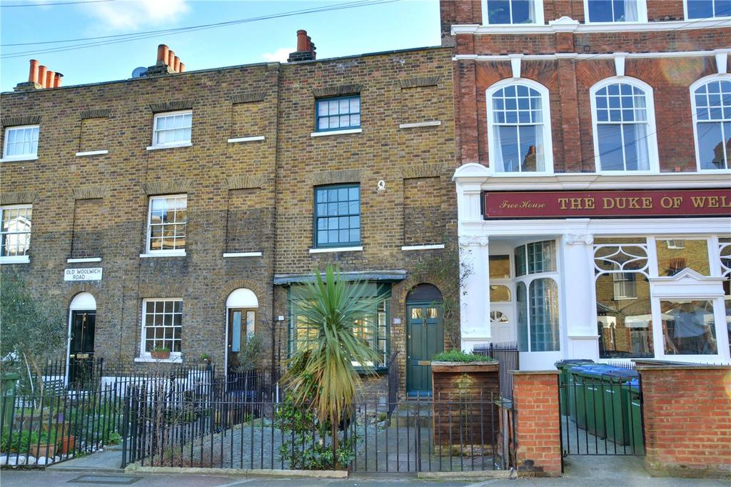 3 Bedrooms Terraced House for sale in Old Woolwich Road, London, SE10