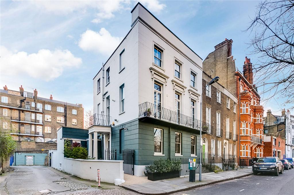5 Bedrooms End Of Terrace House for sale in Addison Bridge Place, Kensington, London
