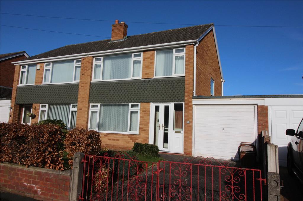 3 Bedrooms Semi Detached House for sale in Waverton Avenue, Prenton, Merseyside, CH43
