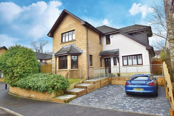 4 Bedrooms Detached House for sale in 8 Barnwell Drive, Balfron, G63 0RG