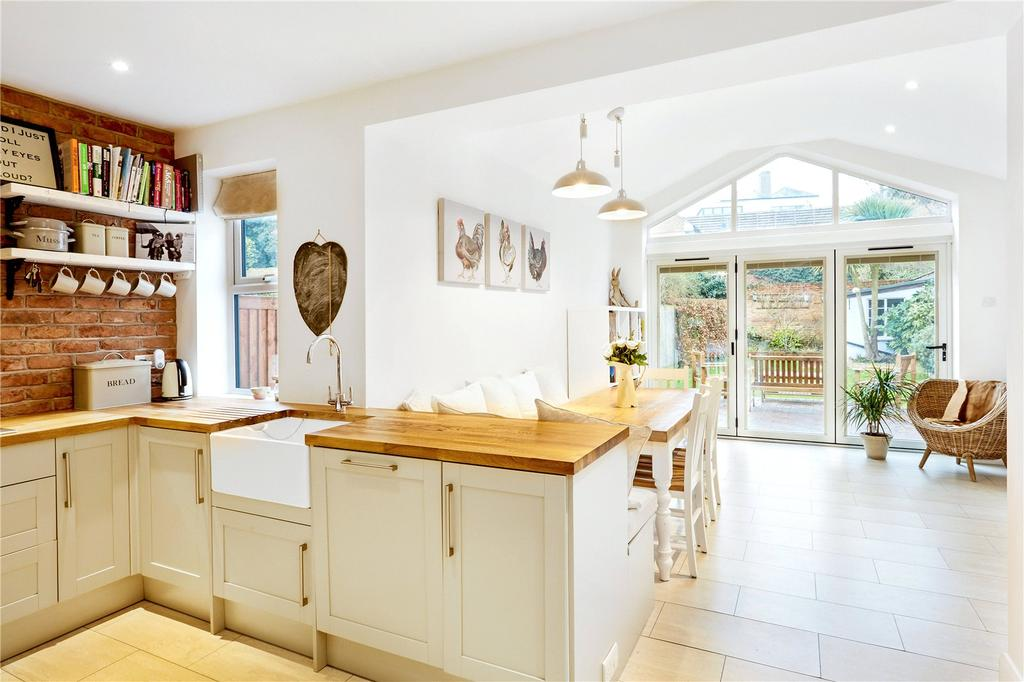 3 Bedrooms End Of Terrace House for sale in Golding Road, Sevenoaks, Kent, TN13