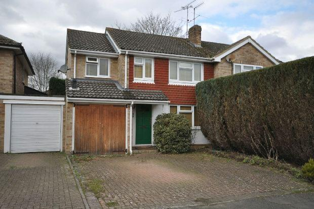 4 Bedrooms Semi Detached House for sale in Quentin Road, Woodley, Reading,