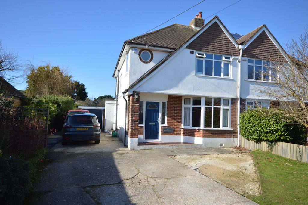 3 Bedrooms Semi Detached House for sale in Barton Lane, Barton On Sea, New Milton