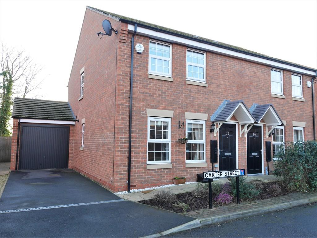 3 Bedrooms Semi Detached House for sale in Carter Street, Howden