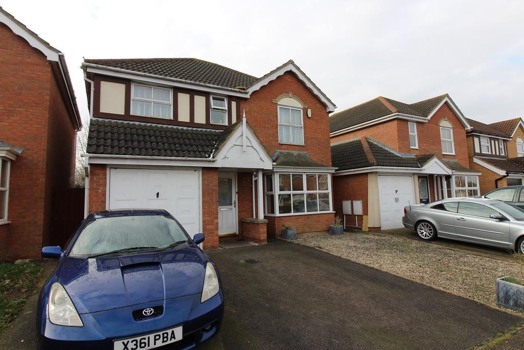 4 Bedrooms Detached House for sale in Eisenhower Road, Shefford, SG17