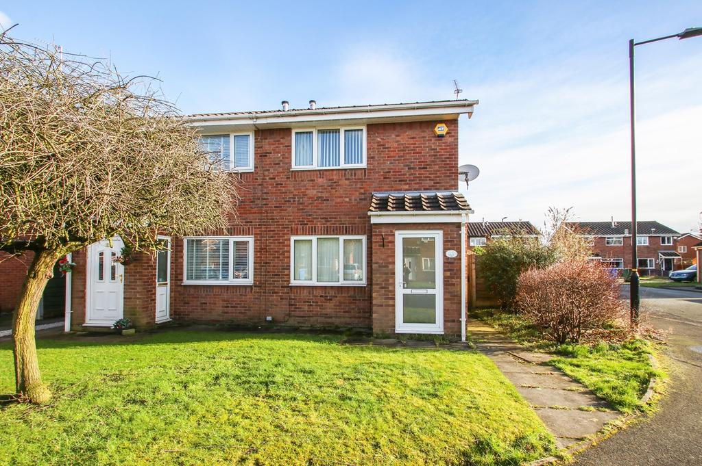 2 Bedrooms Semi Detached House for sale in Larchwood Close, Sale, Cheshire, M33