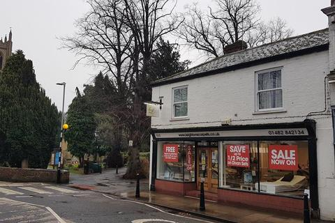 Shop for sale - 117 Hallgate, Cottingham, East Yorkshire, HU16