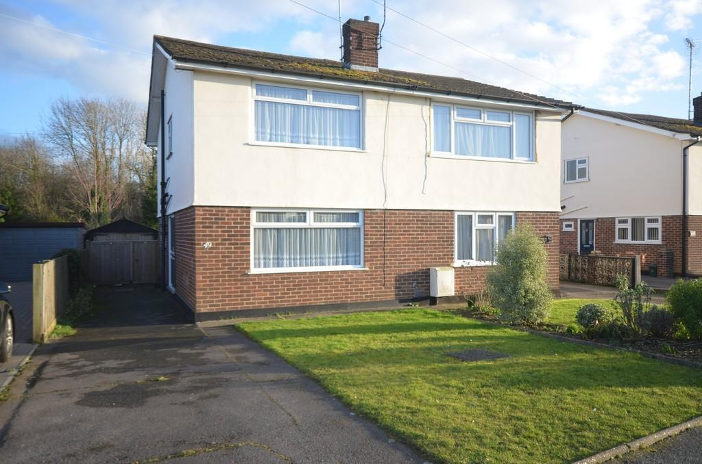 2 Bedrooms Semi Detached House for sale in Chelmer Road, Witham, CM8 2EY