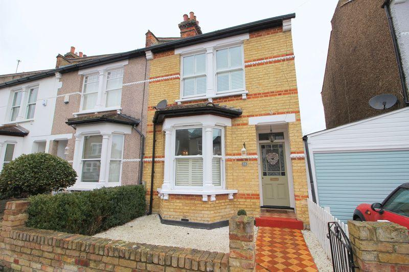 2 Bedrooms End Of Terrace House for sale in Bedford Road, Sidcup, DA15 7JP