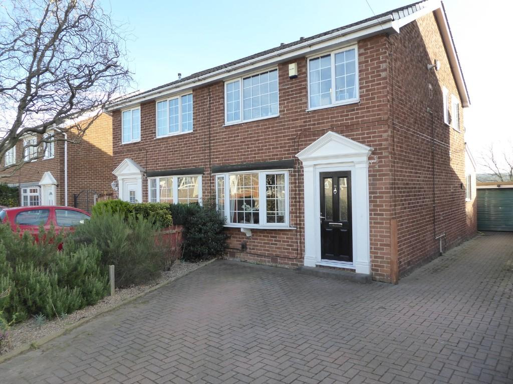 3 Bedrooms Semi Detached House for sale in Castle Grove, Horbury