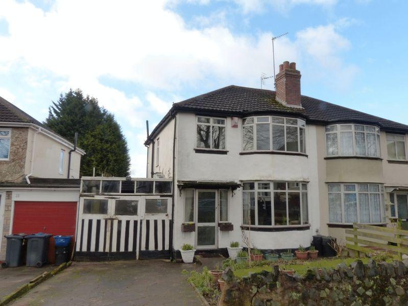 3 Bedrooms Semi Detached House for sale in Hillcrest Grove, Birmingham