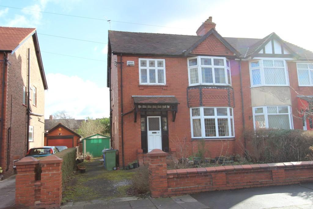 3 Bedrooms Semi Detached House for sale in Warwick Road, Heaton Moor