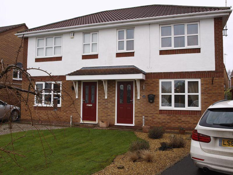 3 Bedrooms Semi Detached House for sale in Millbrook Close, Winsford, CW7 2UU