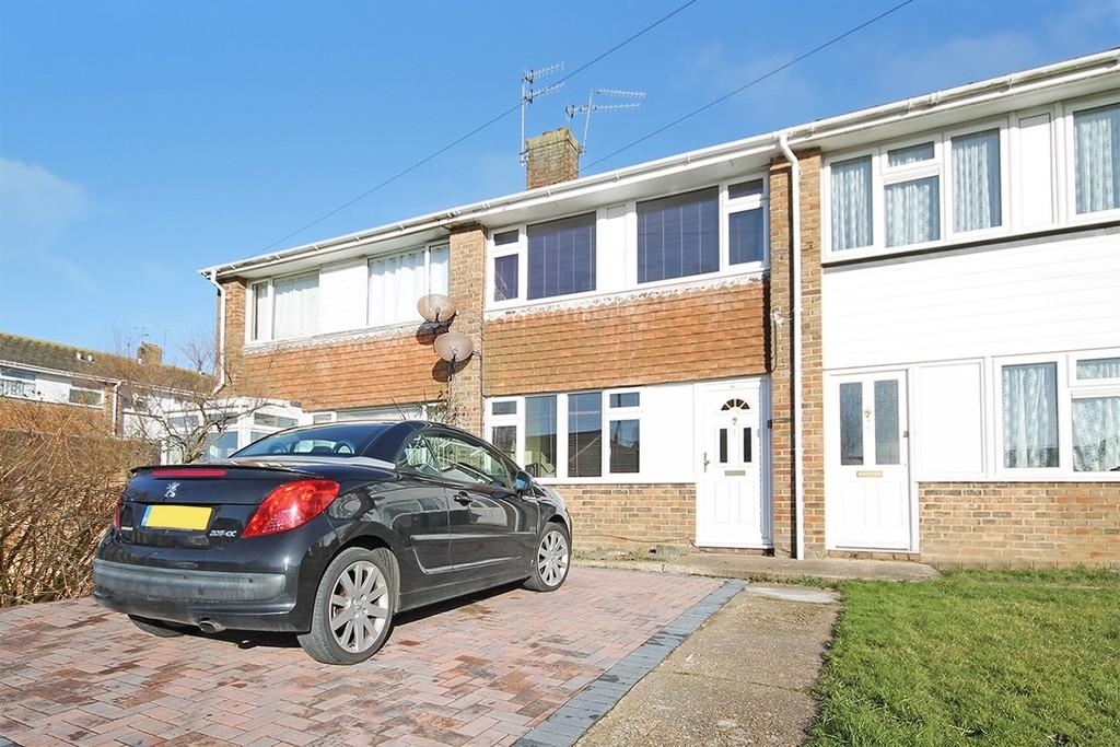 2 Bedrooms Terraced House for sale in Gravelly Crescent, Lancing