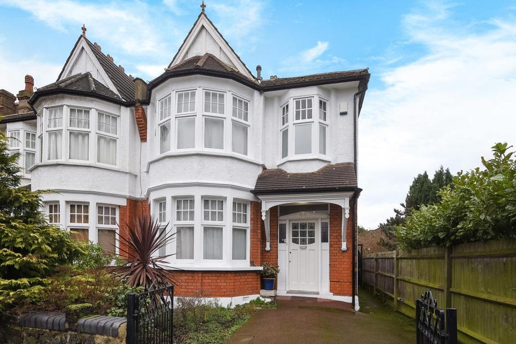 4 Bedrooms Semi Detached House for sale in St. Georges Road, Palmers Green