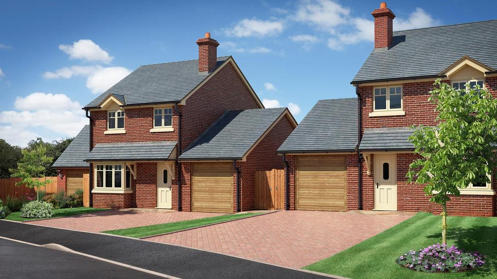 3 Bedrooms Detached House for sale in The Beeches, Chester Road, Whitchurch