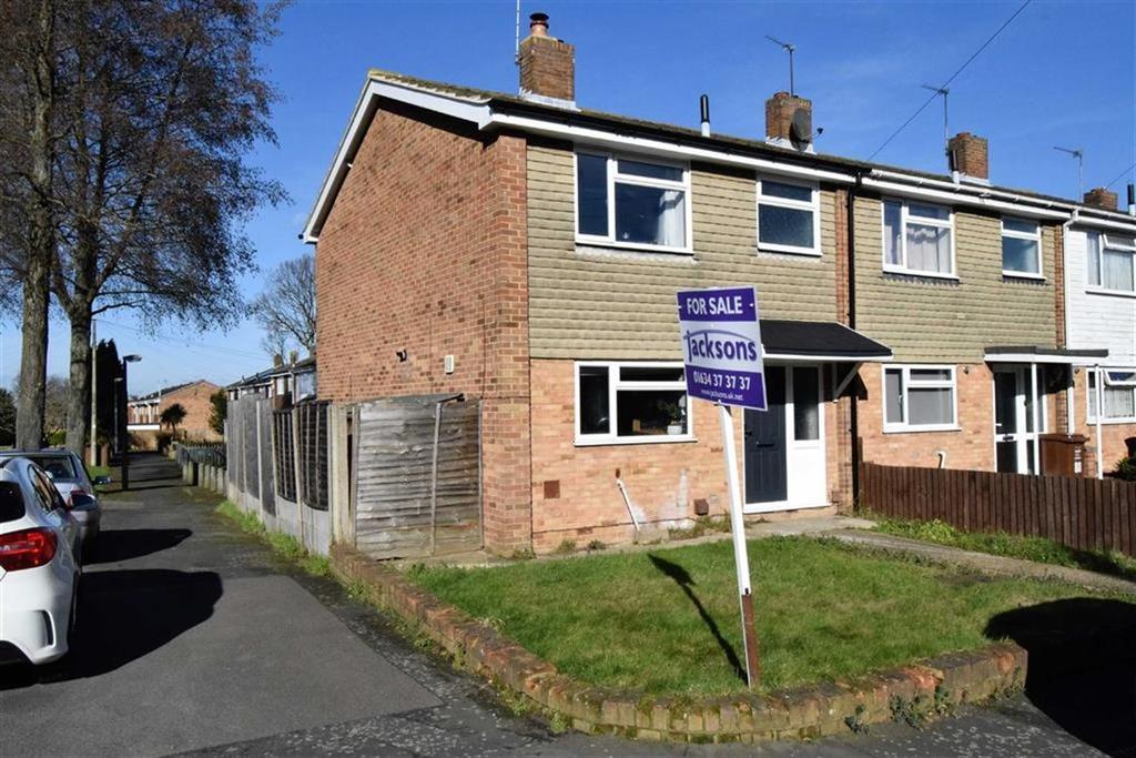 3 Bedrooms End Of Terrace House for sale in Burnham Walk, Rainham