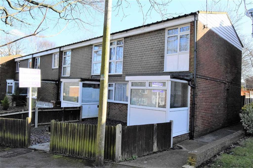 3 Bedrooms End Of Terrace House for sale in Old Castle Walk, Rainham