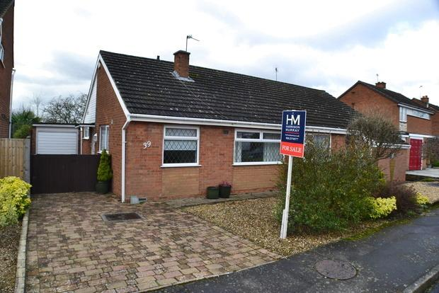 2 Bedrooms Bungalow for sale in Britford Avenue, Little Hill,Wigston, Leicester, LE18