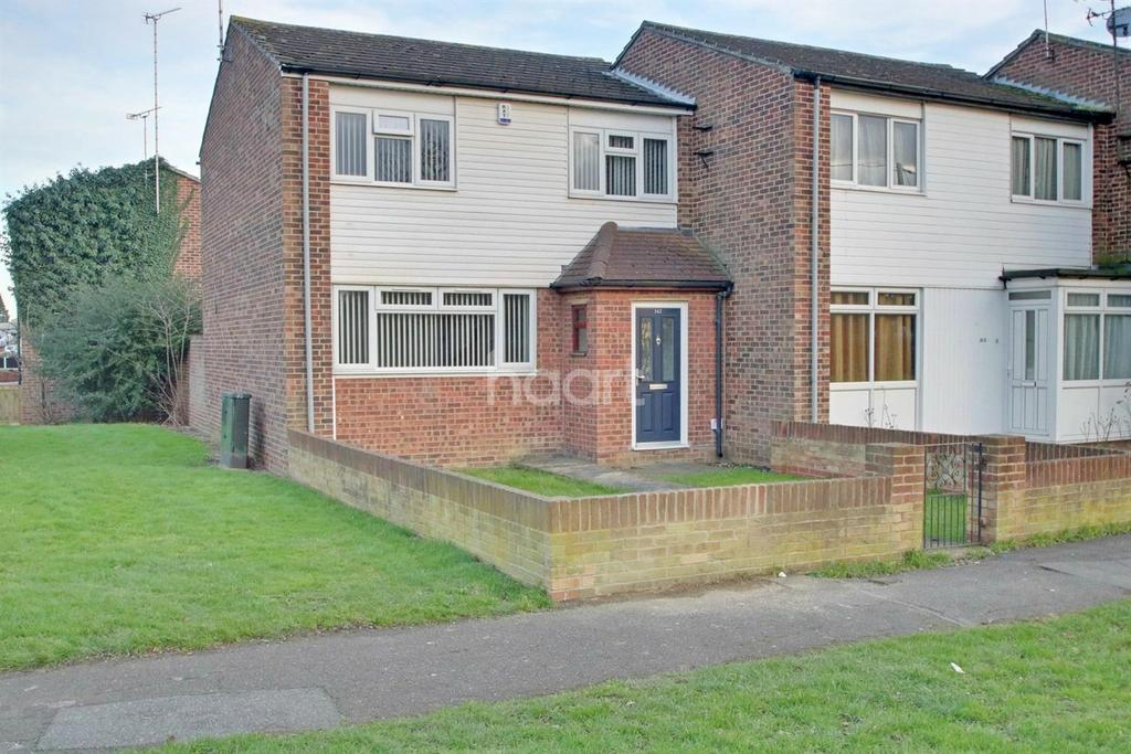 3 Bedrooms End Of Terrace House for sale in Rectory Road, Pitsea