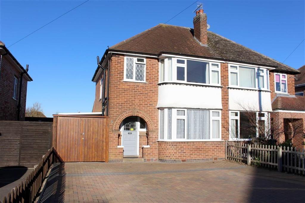 3 Bedrooms Semi Detached House for sale in Avondale Road, Lillington, Leamington Spa, CV32