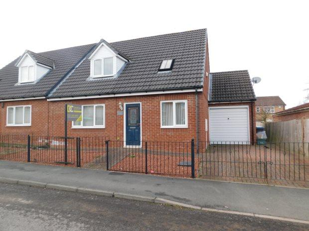 4 Bedrooms Semi Detached Bungalow for sale in SWALE COURT, LANGLEY MOOR, DURHAM CITY : VILLAGES WEST OF