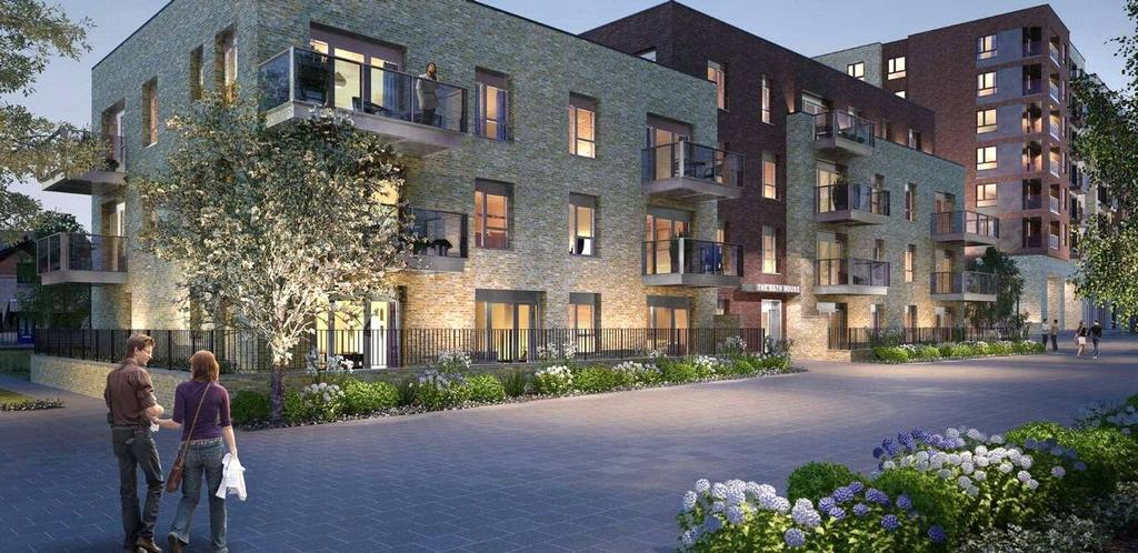 2 Bedrooms Flat for sale in Smithfield Square, London, N8