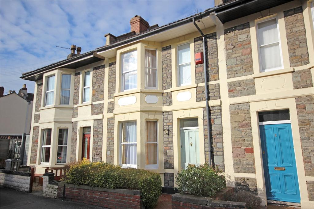 2 Bedrooms Terraced House for sale in Tennyson Road, Horfield, Bristol, BS7