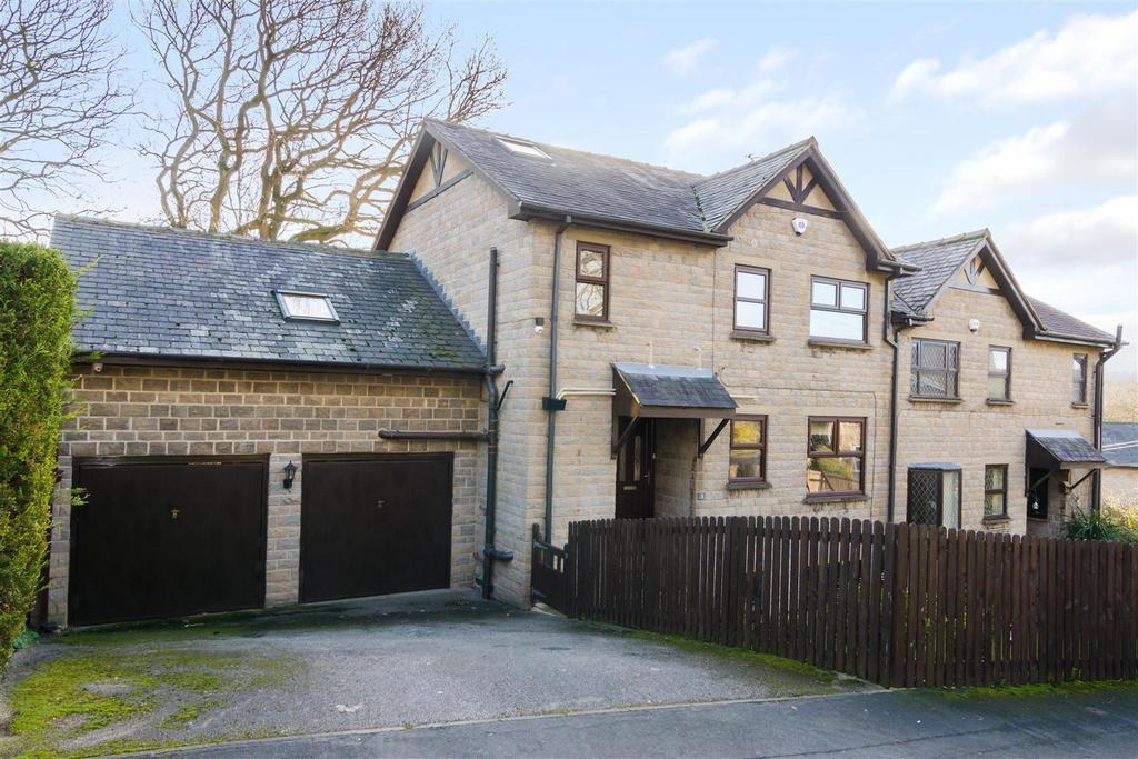 4 Bedrooms Semi Detached House for sale in Newlay Wood Rise, Horsforth