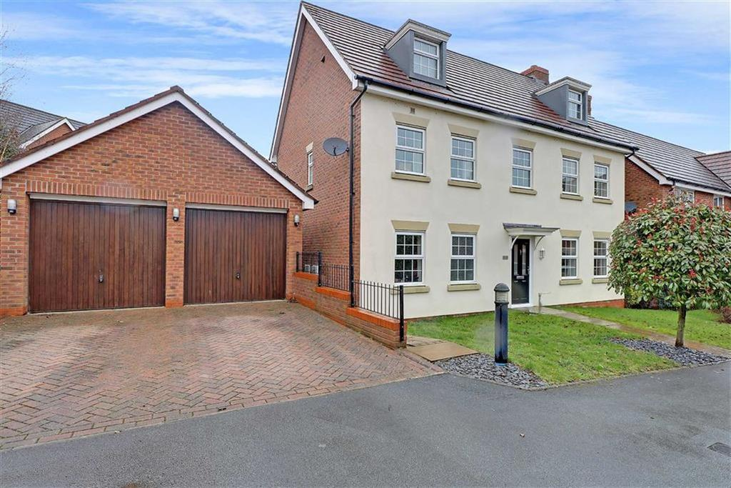 5 Bedrooms Detached House for sale in Chadwell Court, Weston, Crewe