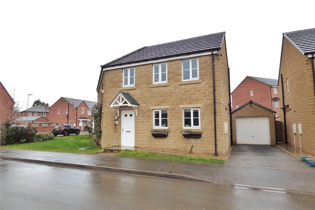 4 Bedrooms Detached House for sale in Holly Road, Scissett, Huddersfield, West Yorkshire, HD8