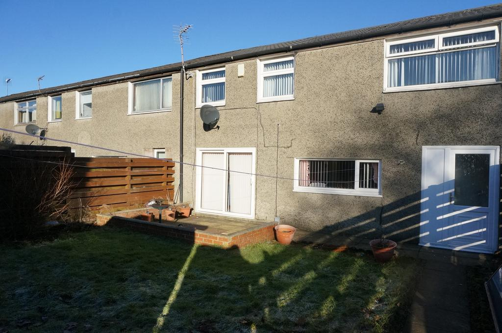 3 Bedrooms End Of Terrace House for sale in Medlar Road, Abronhill, Cumbernauld G67