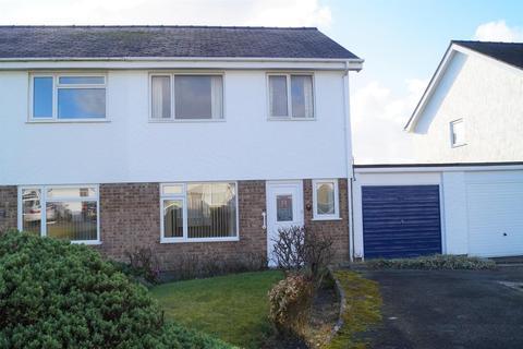 3 bedroom semi-detached house for sale - Bro Cymerau, Pwllheli