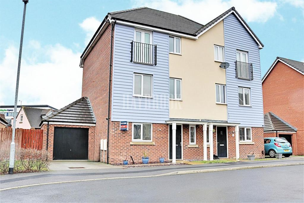 4 Bedrooms Semi Detached House for sale in Stonechat Mead, Wath upon Dearne