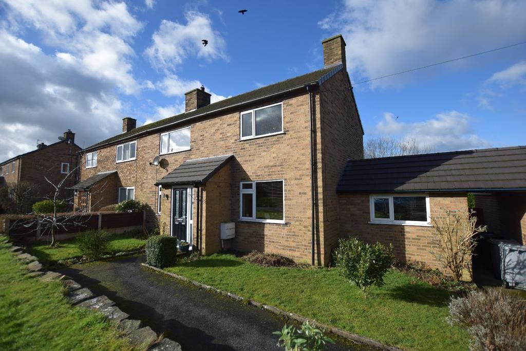 3 Bedrooms Semi Detached House for sale in Goyt Road, Disley, Stockport