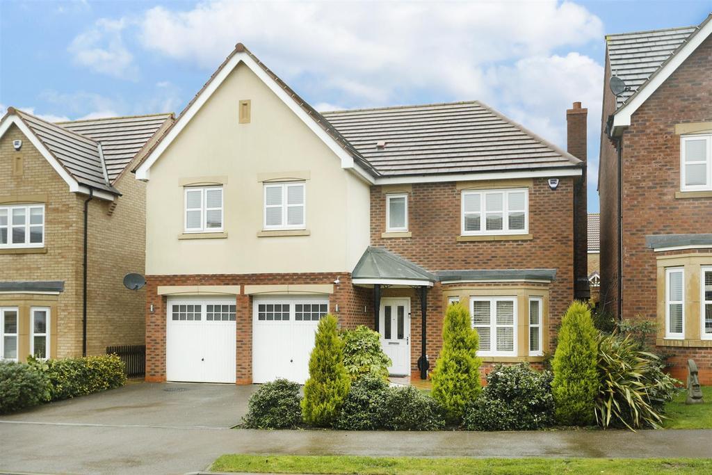 5 Bedrooms Detached House for sale in Devana Way, Great Glen, Leicester