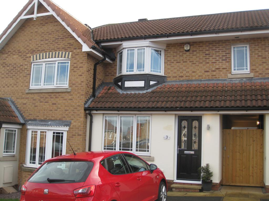 2 Bedrooms Town House for sale in High Hazel Court, Treeton, Rotherham S60