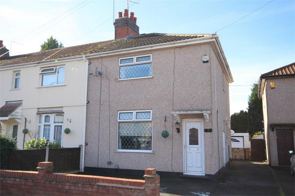 3 Bedrooms End Of Terrace House for sale in Knightsbridge Avenue, Bedworth, Warwickshire
