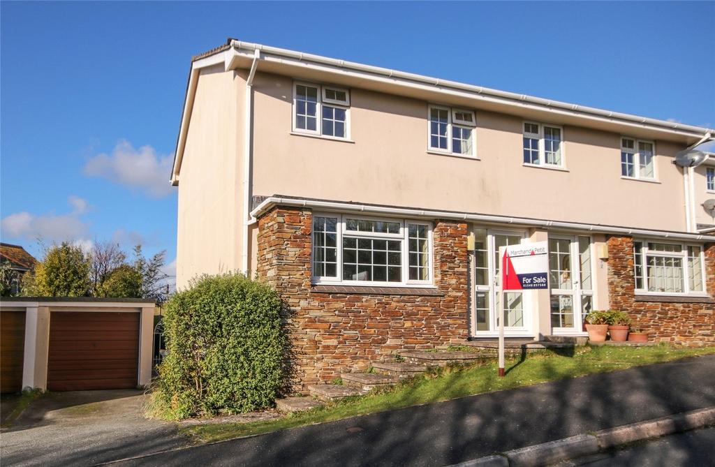 3 Bedrooms Semi Detached House for sale in Mount Pleasant Close, Kingsbridge, Devon, TQ7