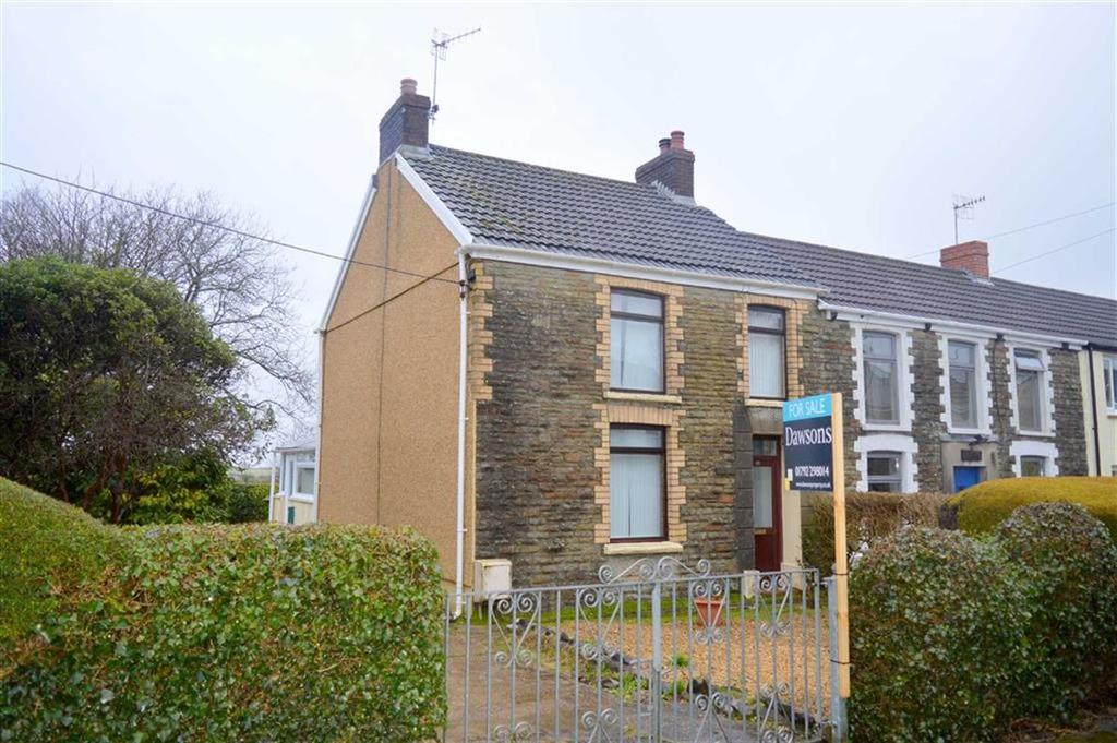 2 Bedrooms End Of Terrace House for sale in Gowerton Road, Three Crosses, Swansea