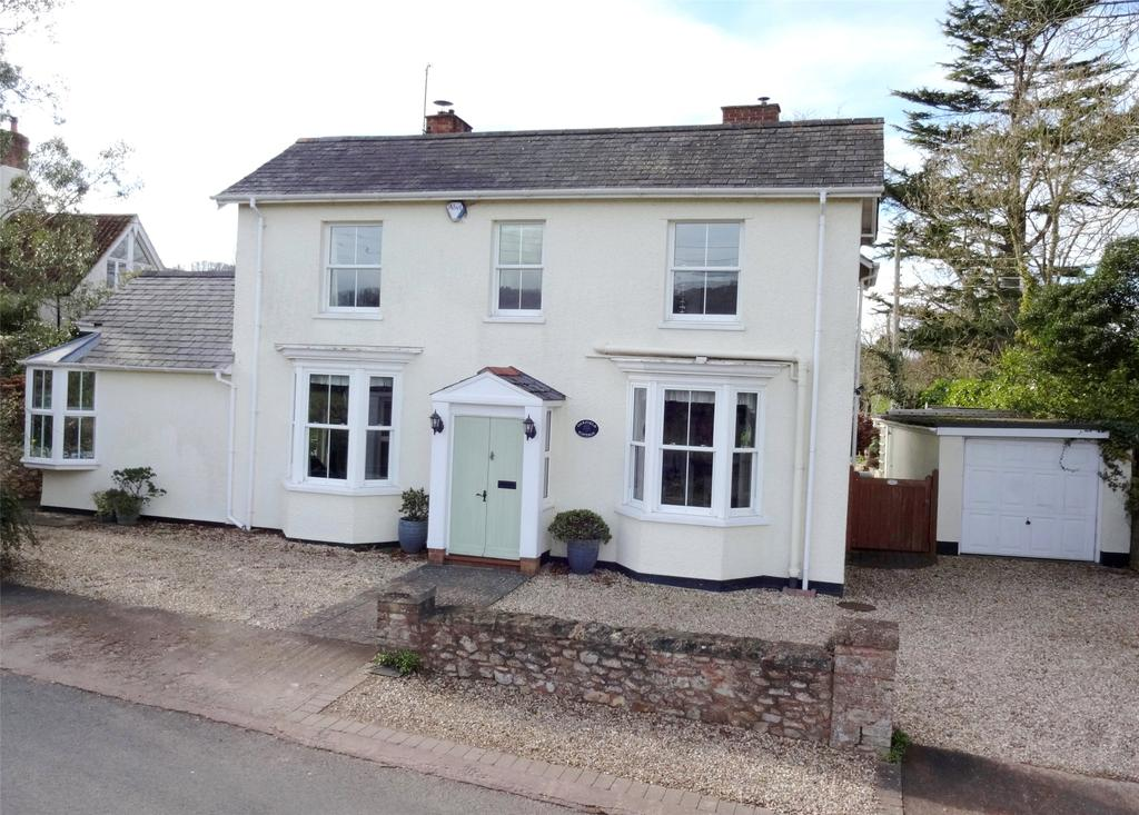 4 Bedrooms Detached House for sale in Blagdon Hill, Taunton