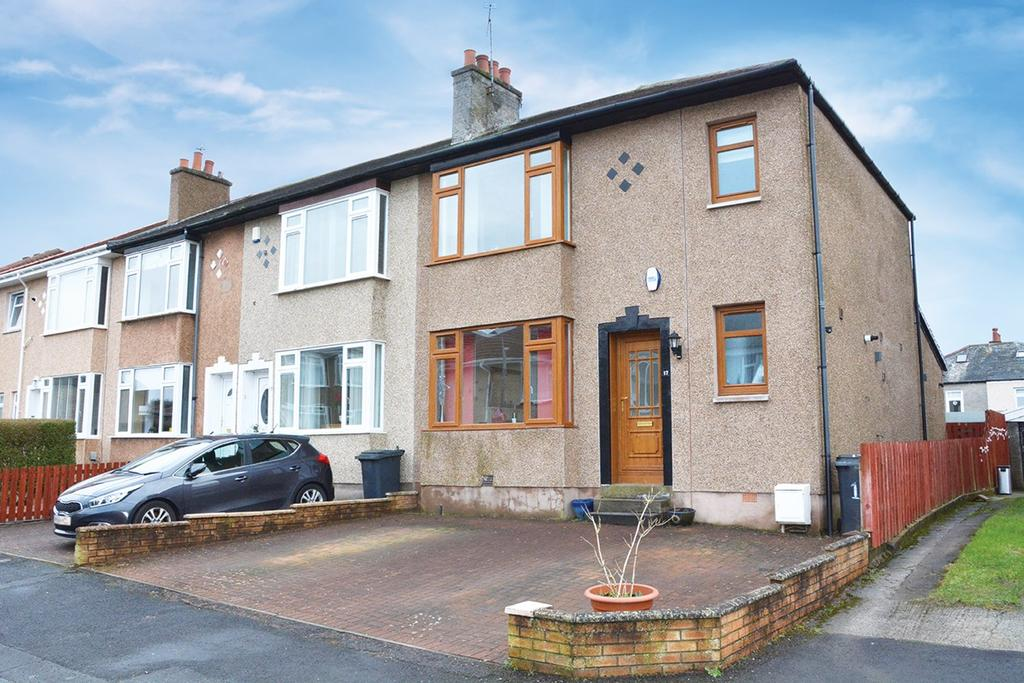 3 Bedrooms End Of Terrace House for sale in Orchy Gardens, Stamperland, Glasgow, G76