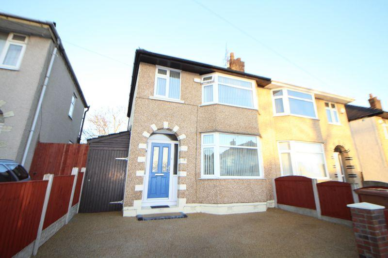 3 Bedrooms Semi Detached House for sale in Eccleshall Road, New Ferry