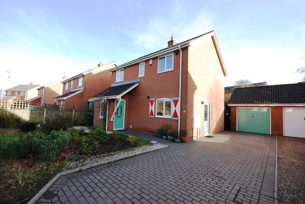 3 Bedrooms Detached House for sale in High Banks, Wymondham