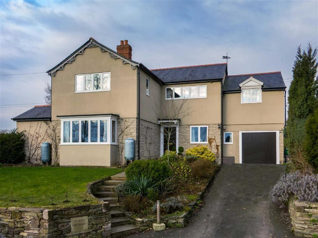 4 Bedrooms Detached House for sale in YARPOLE, Leominster, Herefordshire