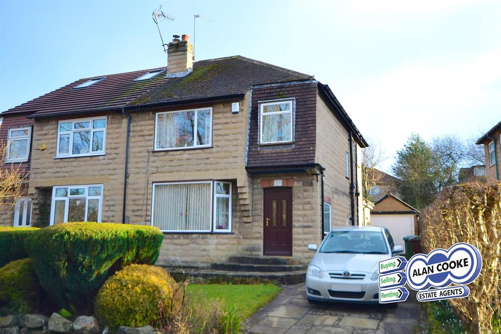 3 Bedrooms Semi Detached House for sale in Buckstone Road, Alwoodley
