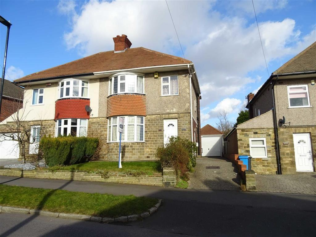 3 Bedrooms Semi Detached House for sale in Cardoness Drive, Crosspool, Sheffield, S10