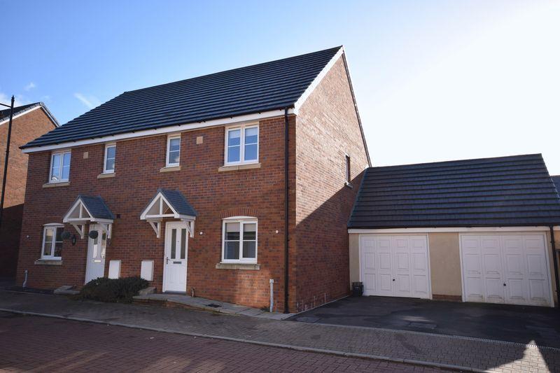 3 Bedrooms Semi Detached House for sale in Llys Y Wennol, Coity, Bridgend