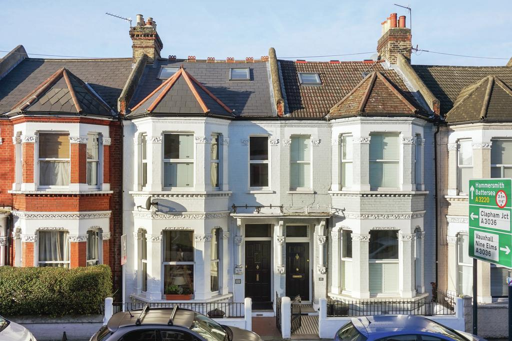 5 Bedrooms Terraced House for sale in Elspeth Road, SW11