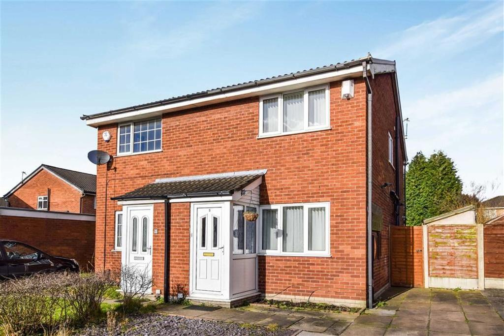 2 Bedrooms Semi Detached House for sale in Coltsfoot Drive, Altrincham, Cheshire, WA14